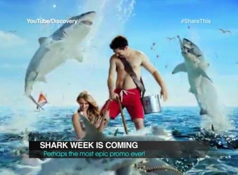 News video: Insane Shark Week Promo