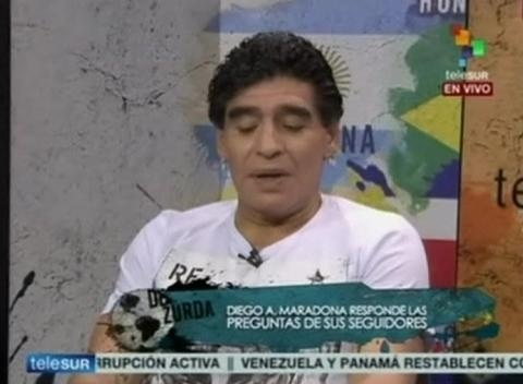 News video: Maradona Says Could Be Next Coach of Venezuela