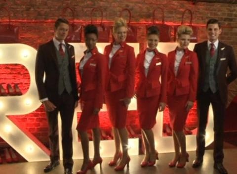 News video: Westwood's Virgin Designs Take to the Skies