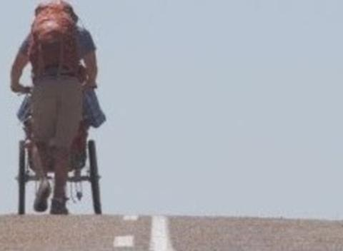 News video: Disabled Man in 500-Mile Trek With Childhood Friend
